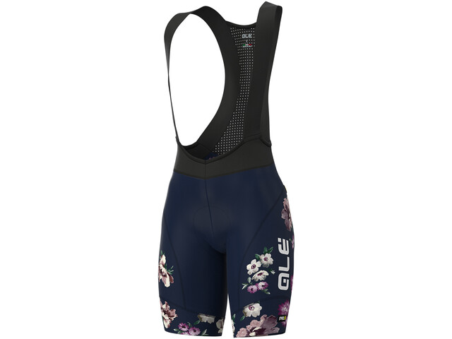 Alé Cycling PRR Fiori Bib Shorts Women, navy blue